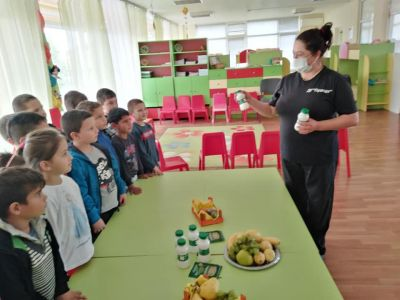 Здравословното хранене и био продуктите - ДГ Пролет - Койнаре