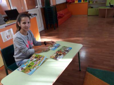 """Снимки от проект """"Успяваме заедно"""", с любезното участие на майката на Никол, леля Габи и майката на Борянка, леля Саня, които разказаха на децата любими приказки-""""Косе-Босе"""" и """"Приказка за питката"""" - ДГ Пролет - Койнаре"""